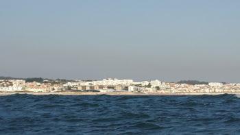 Buarcos vom Meer aus