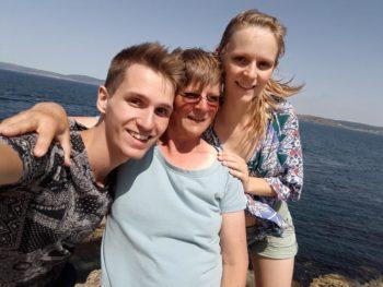 Kristian, Renate und Anne
