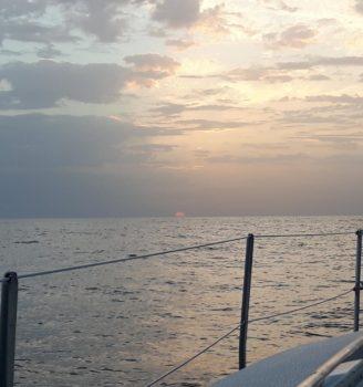 Sonnenaufgang nahe Faro