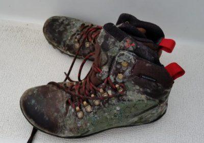 verschimmelte Schuhe