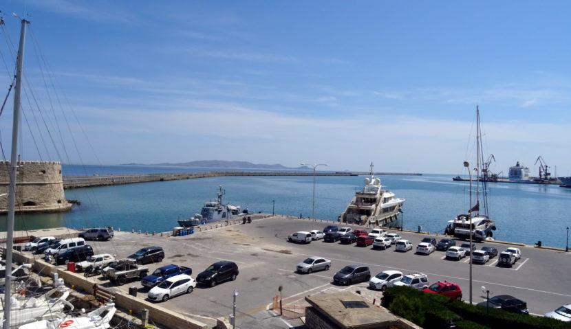 Hafenmole Iraklio