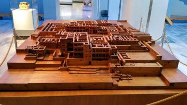 Holzmodell von Knossos