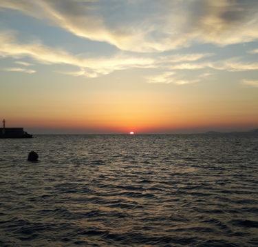 Sonnenaufgang bei Rethymno
