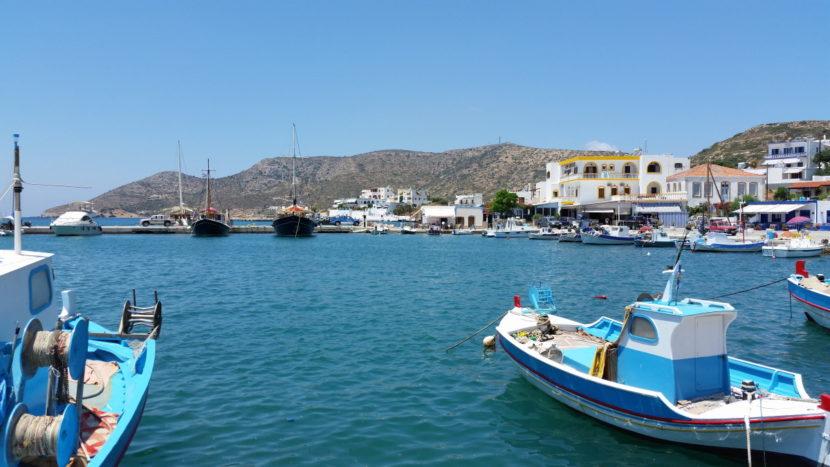 Hafen von Lipsi