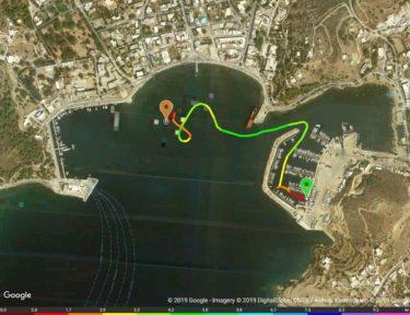 Track Marina - Lakki-Bucht