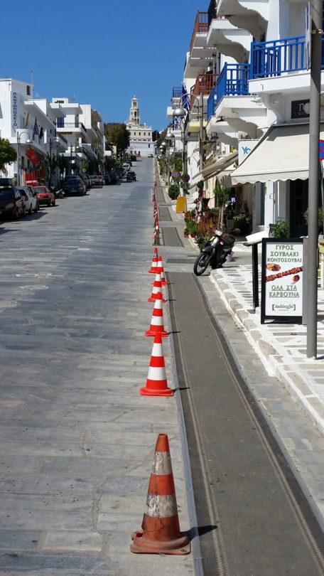Straße zur Panagia