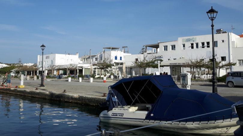 Uferpromenade von Naoussa