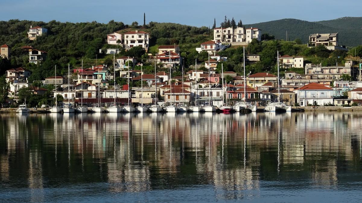 Hafen von Achillio