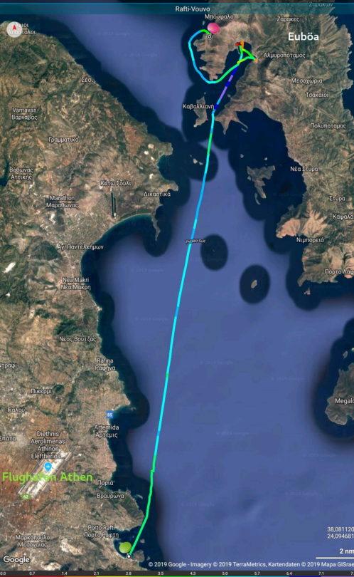 Porto Rafti - Ormos Vouvo