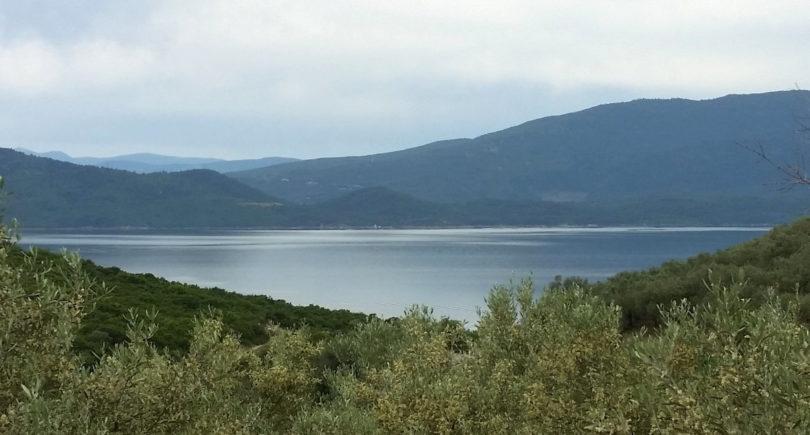 Bucht von Glyfa und Kanal von Orei