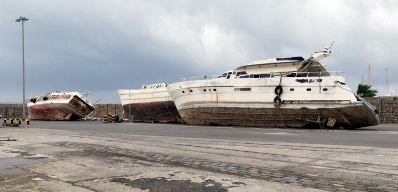 Flüchtlingsboote