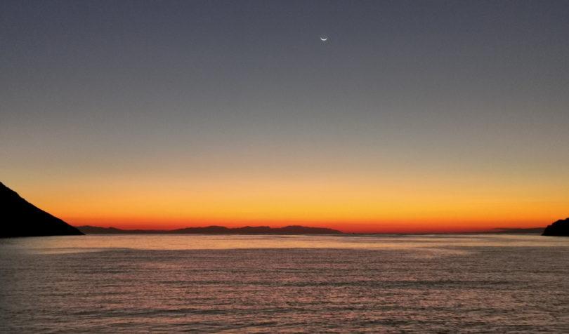Sonnenaufgang in Porto Kagio
